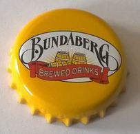 Australie Capsule Bière Beer Crown Cap Ginger Brew Sans Alcool Bundaberg - Bière