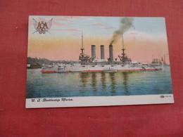US Battleship Maine . Ref 3158 - Oorlog