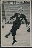 1936 Germany Berlin Olympics Olympia Sammelwerk 13 Bild 68 Gruppe 53 British GB Jack Edward Dunn. Ice Skater - Tarjetas