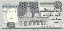EGYPTE 5 POUNDS 1997 UNC P 59 - Egypte