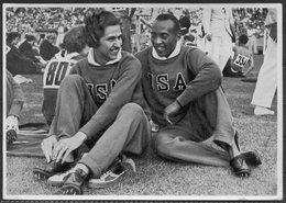 1936 Germany Berlin Olympics Olympia Sammelwerk 14 Bild 21 Gruppe 58 USA Jesse Owens, Helen Stephens - Tarjetas