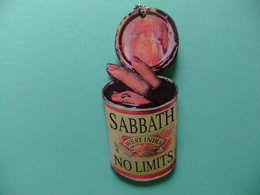 Sabbath West India NO LIMITS Cartulina Publicitaria - Publicidad