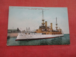 US Battleship  Kentucky -----. Ref 3158 - Oorlog