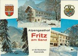"Alpengasthof  ""Fritz Am Sand.""  Ruhpolding /Obb. Germany.   B-3541 - Hotels & Restaurants"