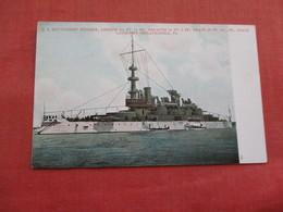 US Battleship Indiana ----. Ref 3158 - Oorlog