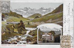 ROSSFALL → Mehrbild-Lithokarte Anno 1905  ►Frankatur◄ - AR Appenzell Rhodes-Extérieures