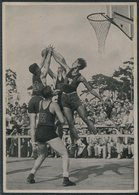 1936 Germany Berlin Olympics Olympia Sammelwerk 14 Bild 157 Gruppe 59 Basketball Philippines Mexico - Tarjetas