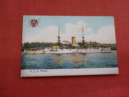 USS Illinois ----. Ref 3158 - Oorlog
