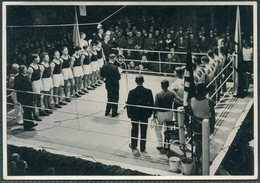 1936 Germany Berlin Olympics Olympia Sammelwerk 13 Bild 145 Gruppe 55 Boxing Germany Poland Essen - Trading Cards