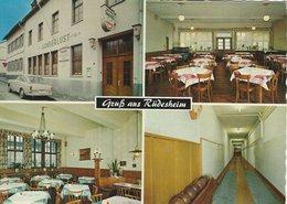 """Gasthaus """" Sängerlust""""  Rüdesheim Am Rhein. Germany.   B-3542 - Hotels & Restaurants"""