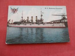 US Battleship Connecticut --. Ref 3158 - Oorlog