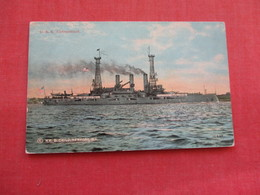 USS  Connecticut --. Ref 3158 - Oorlog
