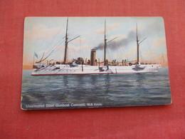 Unarmored Steel Gunboat Concord --. Ref 3158 - Oorlog