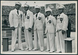 1936 Germany Berlin Olympics Olympia Sammelwerk 14 Bild 129 Gruppe 58 Boxing German Team. Runge Murach Vogt Miner Kaiser - Tarjetas