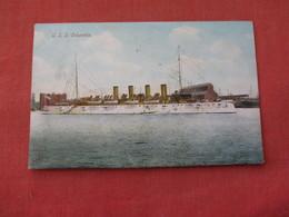 USS Columbia --. Ref 3158 - Oorlog