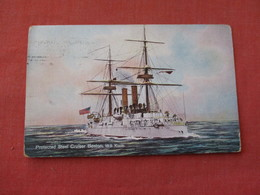 Protected Steel Cruiser Boston  --. Ref 3158 - Krieg