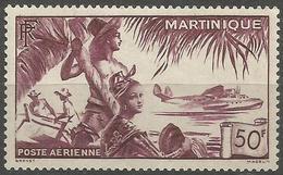 Martinique - 1947 Airmail View 50f MNH **     Mi 256 - Martinique (1886-1947)