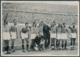 1936 Germany Berlin Olympics Olympia Sammelwerk 14 Bild 143 Gruppe 58 Italy V Austria Football - Trading Cards