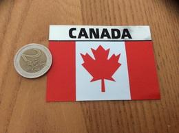 AUTOCOLLANT, Sticker «CANADA » (drapeau) - Autocollants