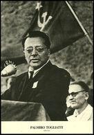 Politica - Palmiro Togliatti - Partito Comunista Italiano - Fg Nv - Personaggi
