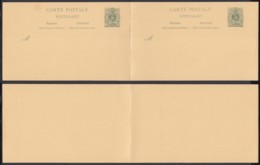 BELGIQUE EP 5c  1893 DOUBLE REPONSE 2X  ERREUR  (DD) DC-2077 - Stamped Stationery