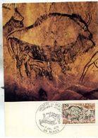 Carte Maximum  Grottes De Niaux 1979 Préhistoire. - Cartes-Maximum