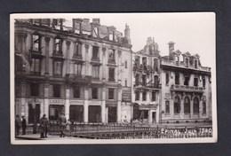 Vente Immediate Epinal Guerre 39-45 Juin 1940 Bombardement Rue Jules Ferry Banque Credit Lyonnais - Epinal