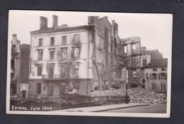 Vente Immediate Epinal Guerre 39-45 Juin 1940 Bombardement Quai Boye - Epinal