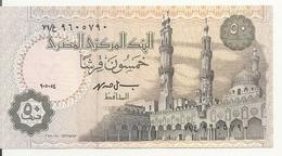 EGYPTE 50 PIASTRES 1994 UNC P 58 B - Egypte