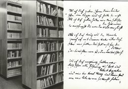 Brecht - Haus - Berlin.  Bertolt-Brecht-Archiv. Bibliotek  B-3551 - Libraries