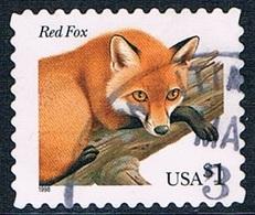 Etats-Unis - Renard Roux 2768 (année 1998) Oblit. - Etats-Unis
