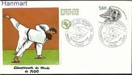 France 1979 Mi 2182 FDC ( FDC ZE1 FRN2182 ) - Judo