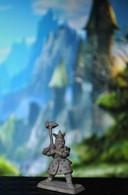 Rare Figurine Mithril En Plomb Pour Jeux De Rôles 3 Cm Années 80-90 - Soldats De Plomb