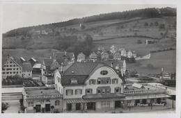HERISAU → Bahnhofareal Mit Quartieransicht Anno 1933 - AR Appenzell Rhodes-Extérieures