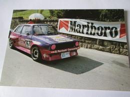 PHOTO VOLKSWAGEN  GOLF JEAN CLAUDE BERING 15x10 Course De Cote SAINTE URSANNE LES RANGIERS (SUISSE) 91 - Cars