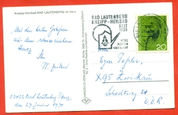 Germany 1969. Postcard Passed The Mail With Special Concellation. - Mahatma Gandhi