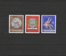 Iran 1967 Olympic Games Mexico / Grenoble Set Of 3 MNH - Zomer 1968: Mexico-City