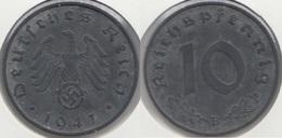 Germania Terzo Reich 10 Reichspfennig 1941B Km#101 - Used - [ 4] 1933-1945 : Troisième Reich