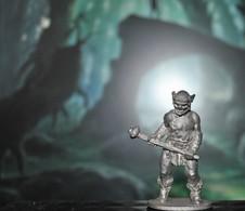 Rare Figurine  En Plomb Pour Jeux De Rôles 4 Cm Années 80 - Soldats De Plomb
