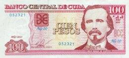 Cuba 100 Pesos, P-129e (2013) - UNC - Cuba