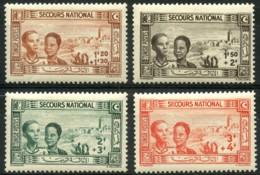 Tunisie (1944) N 245 à 248 * (charniere) - Tunisie (1888-1955)
