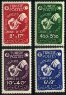Tunisie (1947) N 320 à 323 * (charniere) - Tunisie (1888-1955)