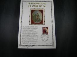 BELG.1976 1827 FDC NAMUR , GOLD CARD FR N°100/200 Ex :    Jeugdfilatelie /  Philatélie De La Jeunesse, Musique, Art, Tab - 1971-80