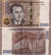 ARMENIA       2000 Dram       P-New       2018       UNC - Armenia
