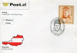 42403 Austria,fdc 2009   Bertha Von Suttner,  Prix Nobel  Nobel Prize - Premio Nobel