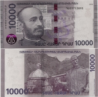 ARMENIA       10,000 Dram       P-New       2018       UNC  [ 10000 ] - Armenia