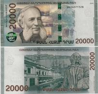 ARMENIA       20,000 Dram       P-New       2018       UNC  [ 20000 ] - Armenia