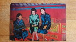 Mongolia. A Traditional Yurt  -  OLD PC 1980s - Mongolia
