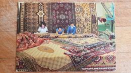Mongolia. A Traditional Carpet Shop -  OLD PC 1980s - Mongolie