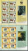 Filippine Philippines Philippinen Pilipinas 1997 World Wide Fund, Visayan Deer & Warty Pig 4 Mnsht/8 - MNH** (see Photo) - Filippine